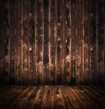Rustic Wood  room Royalty Free Stock Photos