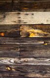 Rustic Wood Surface Stock Photography