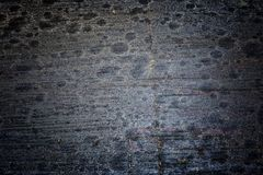 Rustic wood texture and cracks on the surface as background. Dus Royalty Free Stock Photo