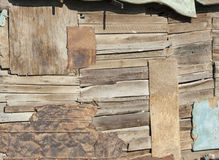 Rustic wood wall background Stock Photography