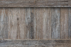 Rustic Wood wall with trim Royalty Free Stock Photo