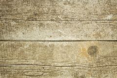 Rustic wooden background. Detailed view of the wood structure. Natural glued spruce board. Royalty Free Stock Photography