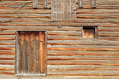 Rustic wooden barn Royalty Free Stock Photo