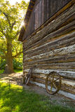 Rustic Wooden Barn Structure Royalty Free Stock Images