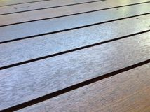 Rustic Wooden Boards/Planks Flooring/Decking Royalty Free Stock Image