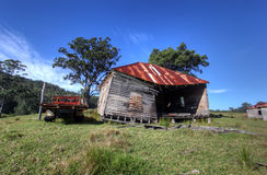 Rustic wooden cottage Stock Photos