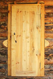 Rustic wooden door. Stock Photo