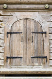 Rustic wooden door Royalty Free Stock Photos
