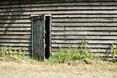 Rustic wooden farm building Royalty Free Stock Photography