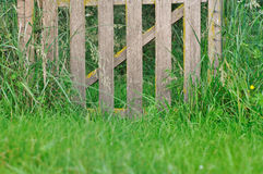 Rustic wooden fence Royalty Free Stock Photos