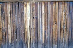 Rustic wooden fence. Stock Photos