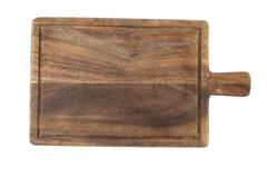 Rustic Wooden Food Serving Board Stock Photography