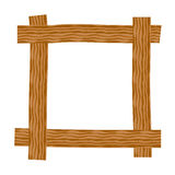 Rustic wooden frame Royalty Free Stock Image
