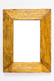 Rustic wooden frame Stock Photography