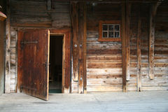 Rustic wooden house Stock Photography