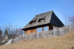 Rustic wooden house Royalty Free Stock Photos