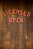 Rustic Wooden Restaurant Royalty Free Stock Photos