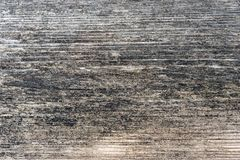 Rustic wooden shabby gray panel without paint.  royalty free stock photo