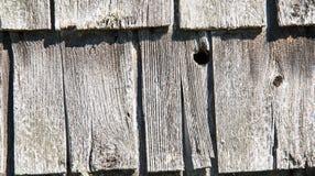 Rustic wooden shingles Stock Photos