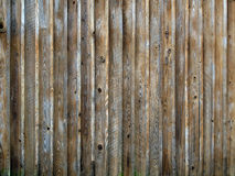Rustic Wooden Siding Stock Images