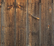 Rustic wooden wall. Stock Photos
