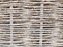 Rustic woven wicker Royalty Free Stock Images