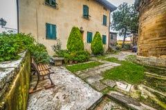 Rustic yard in Tuscany Stock Photos