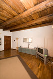 Rustical living room stock photos