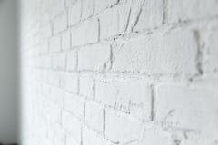 Rustical witte bakstenen muur royalty-vrije stock foto's