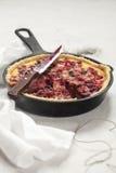 Rustiek Berry Pie Royalty-vrije Stock Foto's