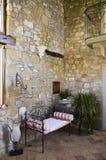 Rustiek binnenland van een Italiaans huis stock fotografie