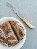 Rustiek brood Royalty-vrije Stock Afbeeldingen