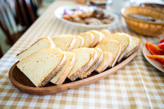 Rustiek brood Royalty-vrije Stock Foto