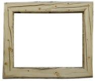 Rustiek houten frame Royalty-vrije Stock Afbeelding