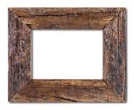 Rustiek Houten frame royalty-vrije stock foto