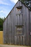 Rustiek houten raadshuis royalty-vrije stock afbeeldingen