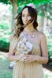 Rustiek huwelijk Bruid royalty-vrije stock foto
