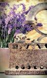 Rustiek ijzer (oude irin) Stock Foto's