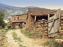 Rustiek mediterraan dorp Royalty-vrije Stock Fotografie