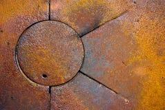 Rustiek metaal Stock Foto