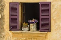 Rustiek venster Royalty-vrije Stock Foto