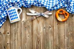 Rustieke achtergrond voor Oktoberfest royalty-vrije stock foto's