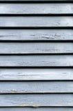 Rustieke Blauwe Geschilderde Houten Backround Stock Foto