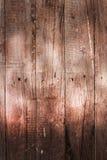 Rustieke bruine donkere houten textuurachtergrond Royalty-vrije Stock Foto