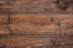 Rustieke bruine houten achtergrond Stock Afbeelding
