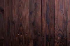 Rustieke donkere bruine houten Royalty-vrije Stock Foto's