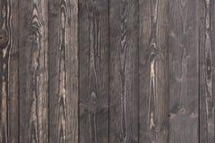 Rustieke donkergrijze houten achtergrond Stock Fotografie