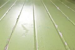 Rustieke Groene Geschilderde Achtergrond Stock Afbeeldingen