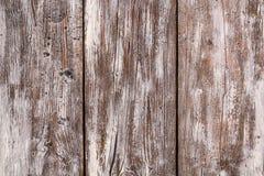 Rustieke houten achtergrond met witte vlek en grunge elementen Stock Foto's