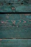 Rustieke houten deurtextuur versleten van verf stock afbeelding
